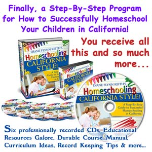 Homeschooling — California Style
