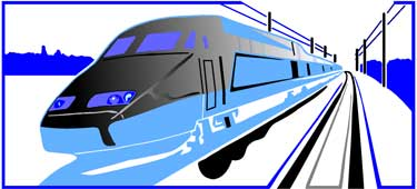 Trains and Railroads -- San Francisco Bay Area Field Trips About Transportation